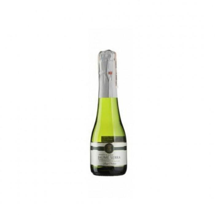 Вино Cava Jaume Serra Brut белое игристое 0,2 л