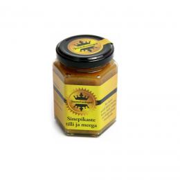 """Соус горчичный с укропом и медом """"Сырное Королевство"""", 190мл"""