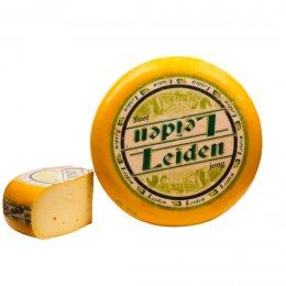 Cheese Gouda Leiden young