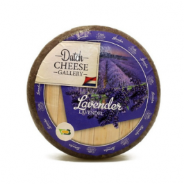 Cheese goat lavender