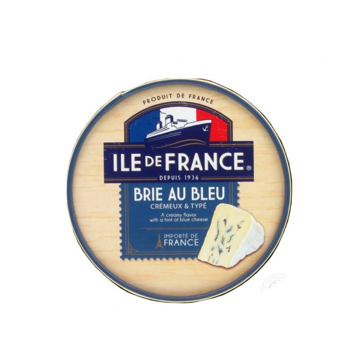 Blue cheese Ile de France brie with blue mold FM, 125g