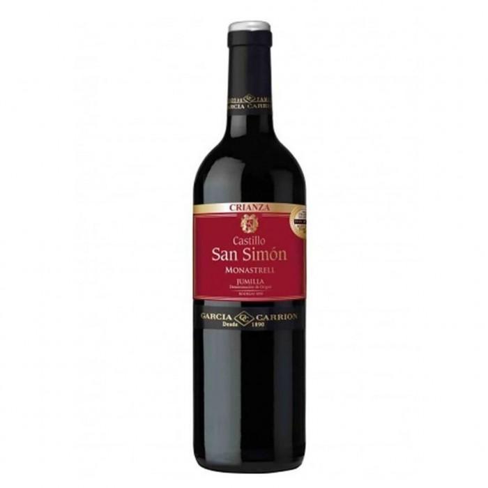 Вино Castillo San Simon Crianza сухое красное 0,75 л