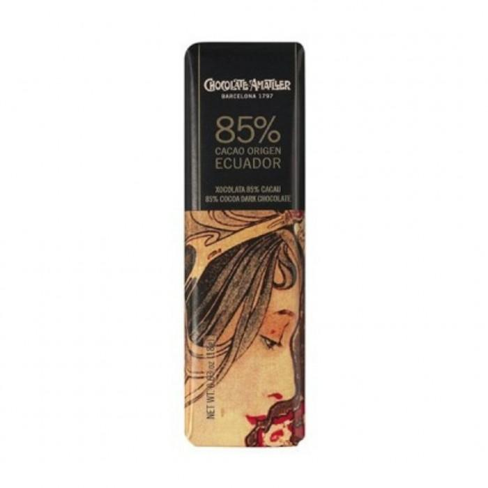 Шоколад Amatller Ecuador 85%, 18 гр