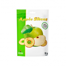 Dried apple slices, 50g