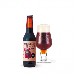 Imperial Stout heavy Fermentation Beer 330 ml
