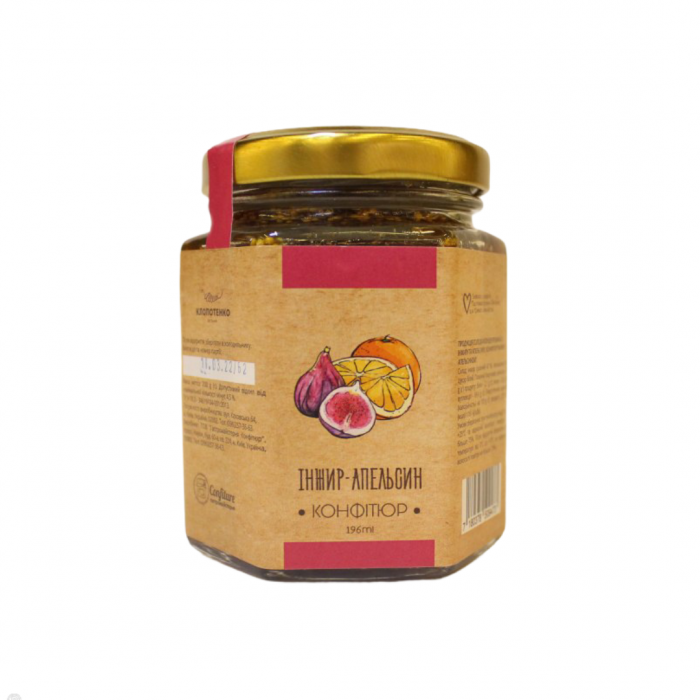 Jam with figs and orange, 200g