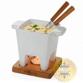 Dishes for fondue Life Tapas white, 200 ml