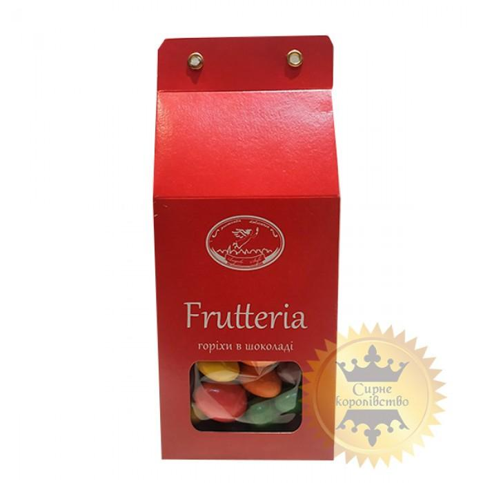 Almonds in black and white chocolate with fruity flavors Assortito, 100g