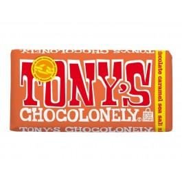 Chocolate Tony Milk with Salty Caramel, 180g