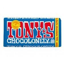 Шоколад черный 70% Tony, 180г