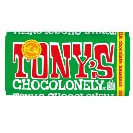 Шоколад Tony молочный с фундуком, 180г