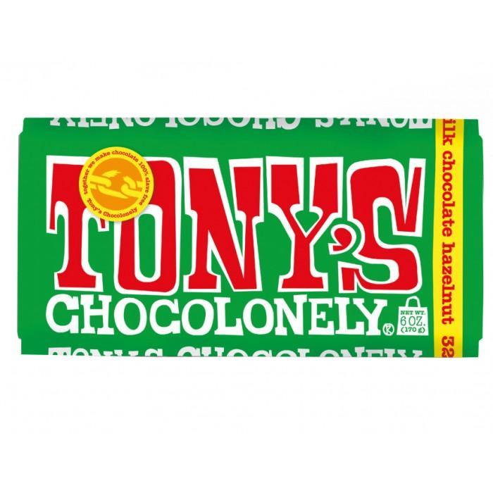 Milk Tony chocolate with hazelnut, 180g