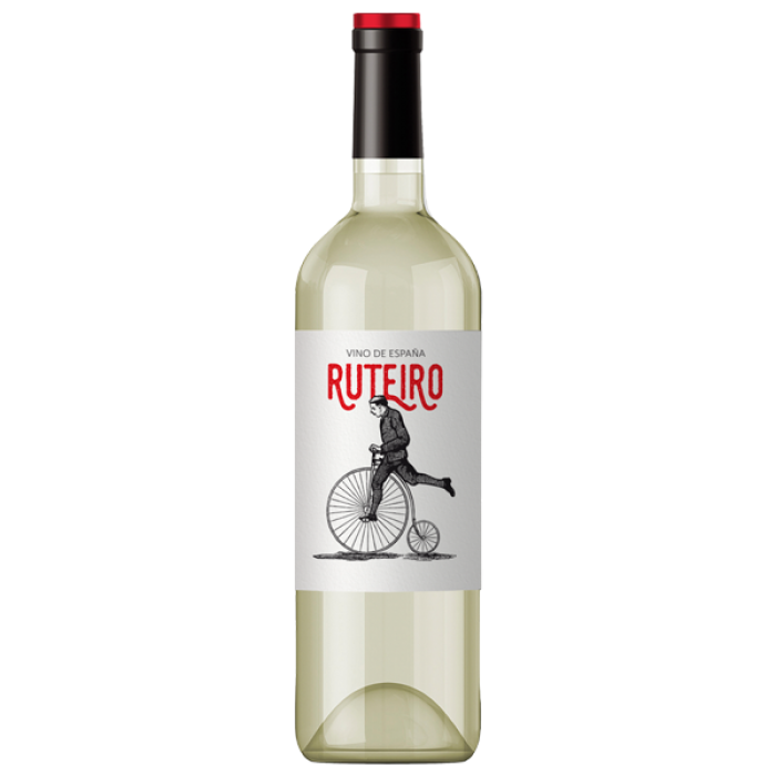 Wine quiet Bodegas Ruteiro white dry 0.75 Spain